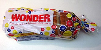 Wonder Bread - Wonder Bread in its former Canadian packaging.