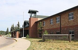 Woodland Park, Colorado - Woodland Park High School