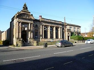 Woodside, Glasgow - Image: Woodside Library, Glasgow, 2011