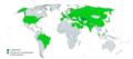 World map of the international presidential trips made by Islam Karimov (Uzbekistan).png