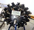 Wright R-975-7 'Whirlwind' aircraft engine - Hiller Aviation Museum - San Carlos, California - DSC03069.jpg