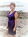 Writer Margarita Meklina sails to Inishturk, Ireland.jpg