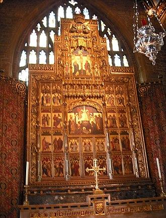 St Wulfram's Church, Grantham - The reredos