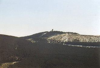 Wurmberg (Harz) - The Wurmberg with its ski jump
