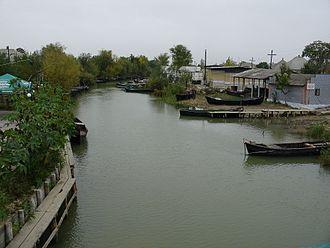 Vylkove - A canal in Vylkove