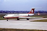 YU-AJA TU134 Aviogenex BHX 26-08-87 (43858585902).jpg