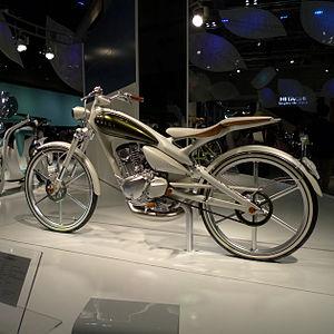 Yamaha YA-1 - Yamaha Y125 Moegi concept bike, 2011 Tokyo Motor Show