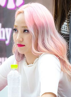 Yenny at a fanmeet in July 2016 02.jpg