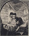 Young Man Writing and Reading from Large Volume at His Left MET 17.3.1526.jpg