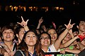 Young fans are so excited at the MTV Exit concert with strong messages against human trafficking (7350447564).jpg