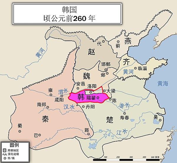 時代 地図 戦国 春秋 春秋戦国時代