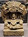 Zapotechi (monte alban, oaxaca, messico), urna funeraria con effige del dio cocijo, periodo classico, 450-650 dc ca. 01.jpg