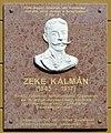 Zeke Kálmán plaque (Balassagyarmat Ady Endre u 17).jpg