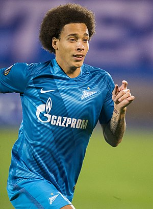 Axel Witsel - Witsel with Zenit in 2015