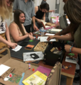 Zine workshop with the SUNY New Paltz Zine Community and Design Society .png