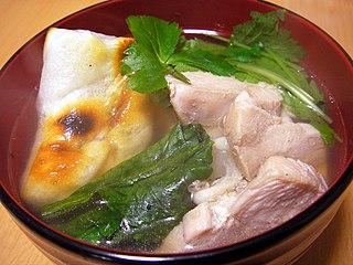 Zōni Japanese soup