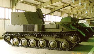 ZSU-37 Self-propelled anti-aircraft gun
