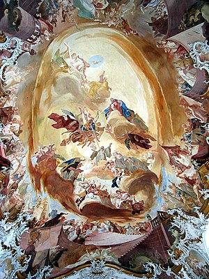Franz Joseph Spiegler - Ceiling frescoes in Zwiefalten Münster