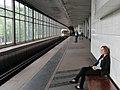 """Sokolniki"" retro train at Vorobyovy Gory station (Ретропоезд ""Сокольники"" на станции Воробьёвы Горы) (4686377950).jpg"