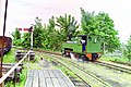 """Superb"" runs round its train - geograph.org.uk - 1612964.jpg"