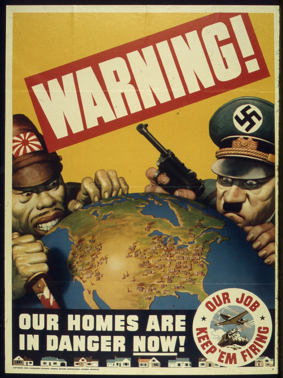 """""""WARNING - OUR HOMES ARE IN DANGER NOW"""" - NARA - 516040"""