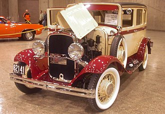 DeSoto (automobile) - 1929 DeSoto, the first model year of DeSoto