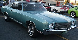 Chevrolet Monte Carlo - 1970 Chevrolet Monte Carlo