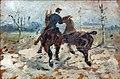 (Albi) Musée Toulouse-Lautrec - Deux chevaux menés en main - Toulouse-Lautrec 1882.jpg