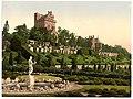 (Drummond Castle from S.W. (i.e., Southwest), Scotland) LOC 3450348048.jpg