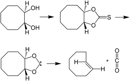 Synthese von (E)-Cycloocten