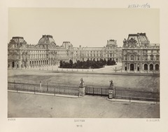 Édouard Baldus, Paris - Louvre, between 1851 and 1870 - Library of Congress.tif