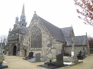Trémaouézan Parish close parish close located in Finistère, in France