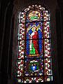 Église Notre Dame et Saint-Junien de Lusignan, vitrail 11.JPG