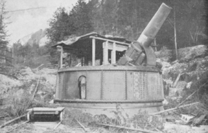 42 cm Haubitze M. 14/16 - The 42 cm L/15 Küstenhaubitze M. 14