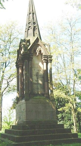 Aschaffenburg - Austrian memorial in the Österreicher Kolonie