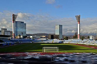 2017–18 Slovak First Football League - Image: Štadión Pasienky Bratislava