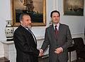 Συνάντηση ΥΠΕΞ κ. Δ. Δρούτσα με τον ΥΠΕΞ του Ισραήλ κ. A. Liberman - FM D. Droutsas meets with Israeli FM A. Liberman (5348594213).jpg
