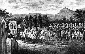 Greek Battalion of Balaklava - The Amazons Company salute Catherine II the Great in Crimea (1787)