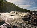 Водопад на реке Западная Лица - panoramio.jpg