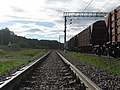 """Ж-д станция """"Кресты"""" (вид в сторону Бекасово) - panoramio.jpg"""