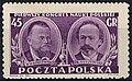 З. Врублевский на почтовой марке Польши.jpg