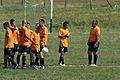 Отборът по време на мач.JPG