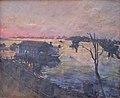 Пристань в Рыбинске. хм. 72х87 см. 1954 г..JPG