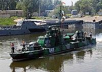 Проект 1204 «Шмель» — дивизион артиллерийских катеров охраны водного района Каспийской флотилии 06.jpg