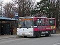 Село Русско-Высоцкое, остановка у больницы (04.11.2009).JPG