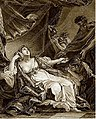 Смерть Лукреции. Гравюра Бенуа-Луи Анрикеса.jpg