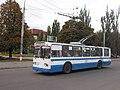 Сумський тролейбус №18 проспект Шевченка біля готелю Ювілейний.jpg