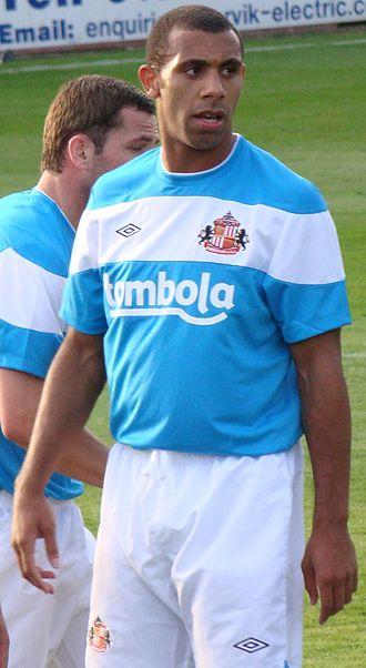Anton Ferdinand - Ferdinand playing for Sunderland in 2011
