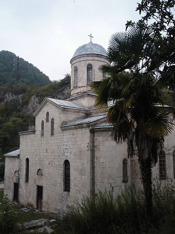 Храм апостола Симона Кананита в Новом Афоне (Абхазия)
