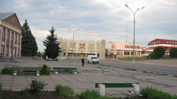 Main square of Obukhiv